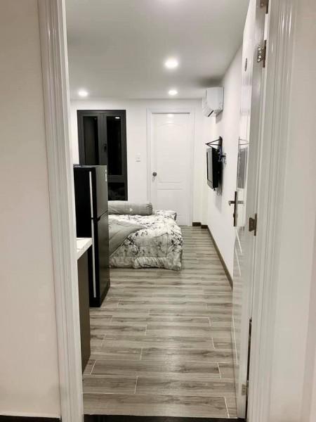 Phòng trọ chuẩn phong cách tây, hiện đại, mới xây mới toanh, Full nội thất, 26m2