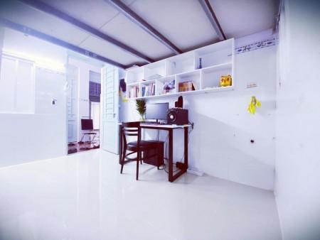 Phòng trọ giá ưu đãi mùa dịch, đầy đủ tiện nghi nội thất, giờ tự do, 32m2