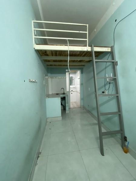 Phòng trọ rộng rãi, mát mẽ, có máy lạnh, tại hẻm 78 Khánh Hội, P4, Q4, 26m2