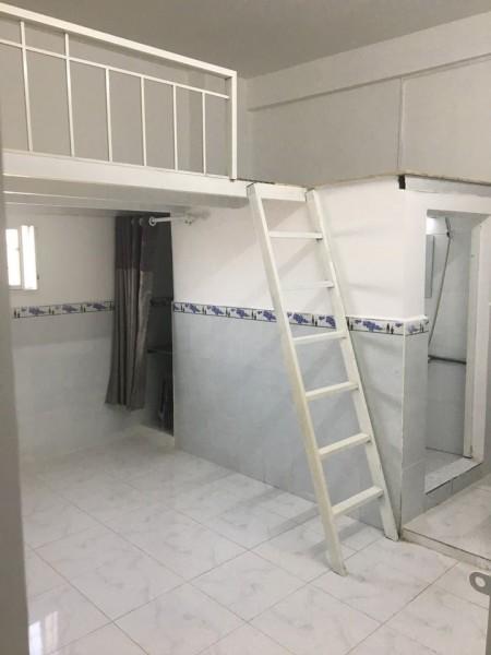 Phòng cho thuê gác lững ngay Cao Lỗ giao với Phạm Hùng, bảo vệ 24/7 an ninh, 28m2