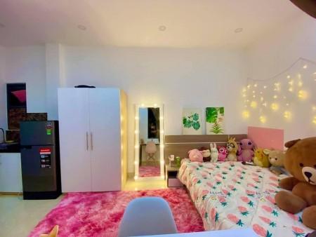 Phòng cho thuê siêu đẹp tại Tôn Đản Quận 4. Full nội thất đẹp, 25m2