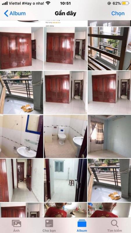 Phòng mới sạch đẹp, thoáng mát, có ban công có cửa sổ, tại Vườn Lài, 30m2