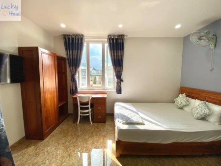 Cho thuê phòng trọ tại Trần Quốc Hoàn, Tân Bình. Gần sân bay, gần công viên Hoàng Văn Thụ, 45m2