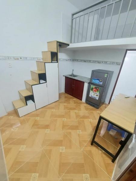 Phòng trọ tại Tân Phú, dạng căn hộ mini đầy đủ tiện nghi nội thất, 28m2
