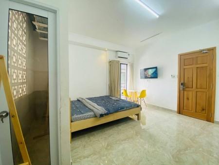 Phòng đầy đủ tiện nghi nội thất, view đẹp trung tâm Phú Nhuận, 30m2