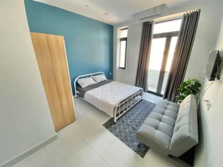 Cho thuê phòng trọ cao cấp tại Mặt đường Nhiêu Tứ, quận Phú Nhuận, 28m2