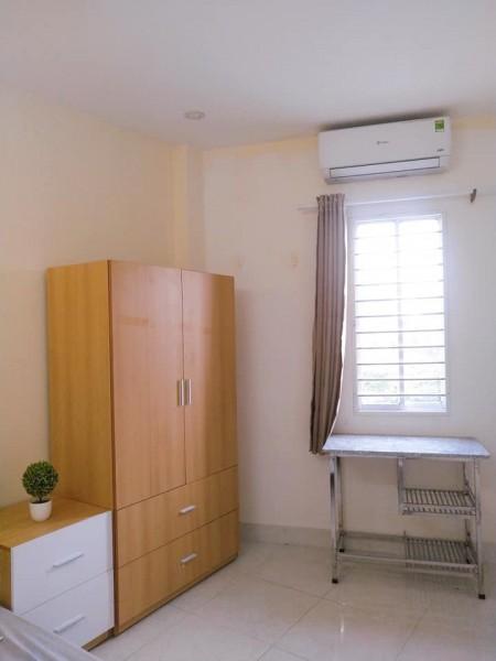 Cho thuê phòng trọ cao cấp mặt tiền Phạm Văn Đồng, Gò Vấp phòng sạch sẽ, nội thất mới đẹp, 28m2