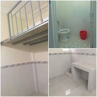Phòng trọ cho thuê tại Tân Tạo A, Bình Tân. Còn 2 phòng giá chỉ 1tr3/tháng, 19m2