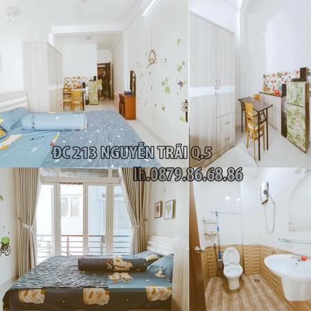 Phòng hiện đại mới đẹp, Ngay ngã 3 Lê Hồng Phong, full nội thất, cho nuôi thú cưng, 30m2
