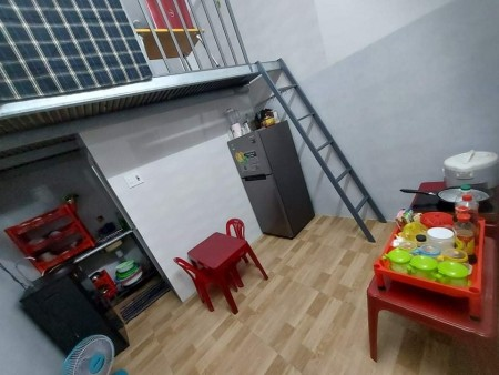 Cho thuê phòng trọ mới xây 100%, phòng có gác lửng, tường ốp gạch men sạch sẽ, 25m2