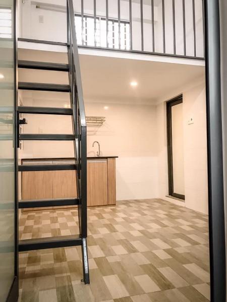 Phòng trọ cao cấp, hiện đại khang trang, mới xây, có gác lửng, vị trí thuận lợi trước nhà, 22m2