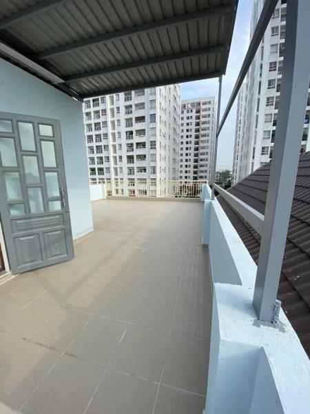 Cho thuê phòng trọ cao, rộng thông thoáng, cửa sổ đủ sáng, view xanh thoáng mát, 28m2