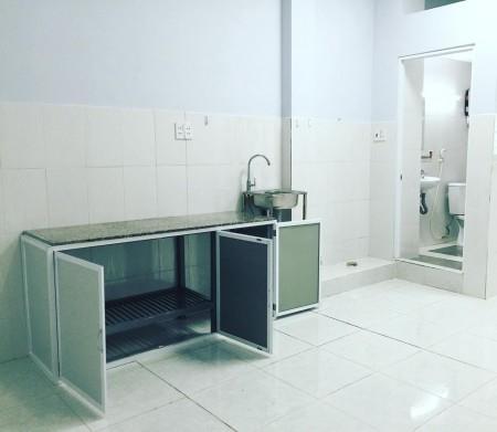 Phòng trọ mới xây đầy đủ tiện nghi tại quận Phú Nhuận, thang máy cao cấp, wc riêng, 40m2