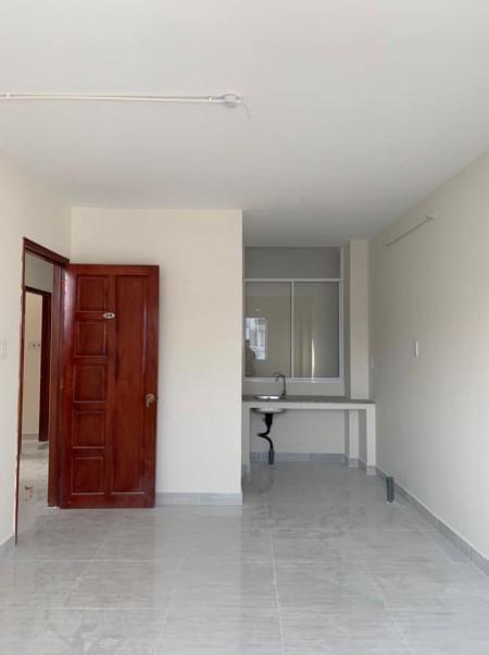 Phòng trọ mới xây tại quận 4, giờ giấc tự do, không chung chủ, có nội thất ban công lớn, 25m2