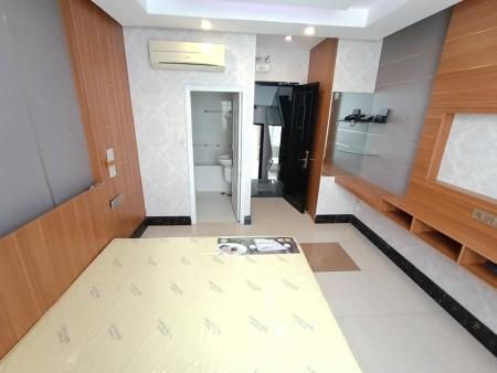 Cho thuê phòng trọ mới khai trương tại quận 6, nội thất mới 100%: giường nệm cao su, máy lạnh, 24m2