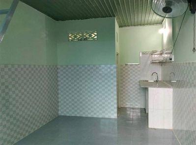Nhà trọ cho thuê mới rộng, thoáng mát tại An Phú Đông, quận 12, có khuôn viên rộng, 25m2