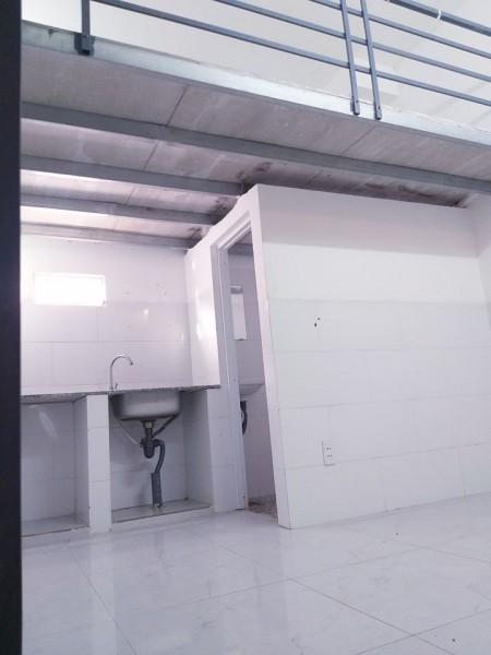 Cho thuê phòng trọ tại Bình Tân, có hầm để xe riêng, cửa vân tay, giờ tự do, Camera an ninh, 17m2