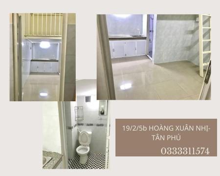 Phòng trọ cho thuê có gác lửng tại Tân Phú, giờ giấc tự do, cửa vân tay, không chung chủ, 18m2