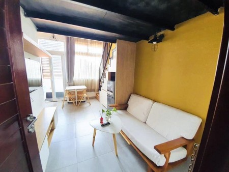 Cho thuê căn hộ gác lửng Quận 7 đường Lý Phục Man gần Phú Mỹ Hưng, 35m2