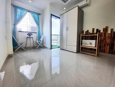 Phòng trọ cho thuê tại quận 1, ánh sáng khắp phòng, gió tự nhiên ngập phòng, full nội thất, 28m2