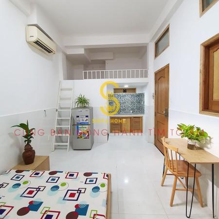 Cho thuê căn hộ full nội thất 30m2 đường Huỳnh Tấn Phát Quận 7 giá 4 triệu, 30m2