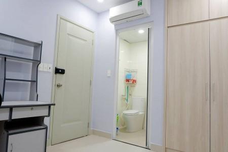 Cho thuê phòng trọ tại Phú Nhuận, camera giám sát 24/24, hành lang chung 2 phòng có sân phơi, bếp, 15m2