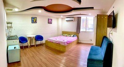 Phòng trọ cho thuê full nội thất tại quận 5, phòng đẹp, mới, thiết kế hiện đại, sạch sẽ, an ninh, 28m2