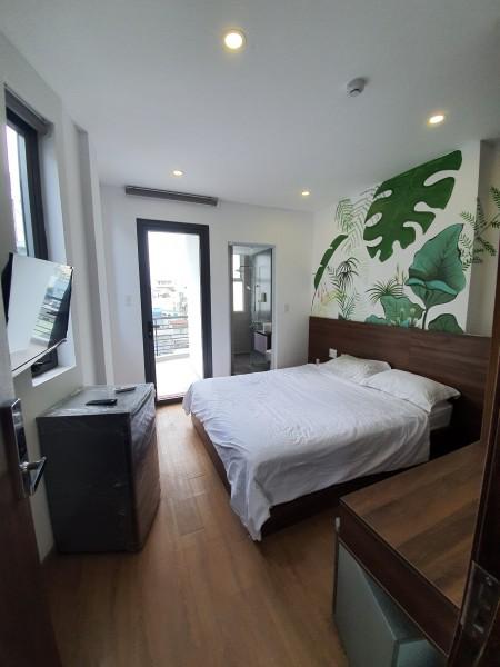 Cho thuê căn hộ dịch vụ - mặt tiền Trần Quang Khải, Quận 1., 28m2