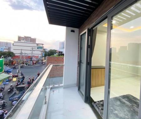 Phòng trọ cho thuê tại Tân Phú, phòng full nội thất có ban công view đẹp, giờ giấc tự do, 28m2