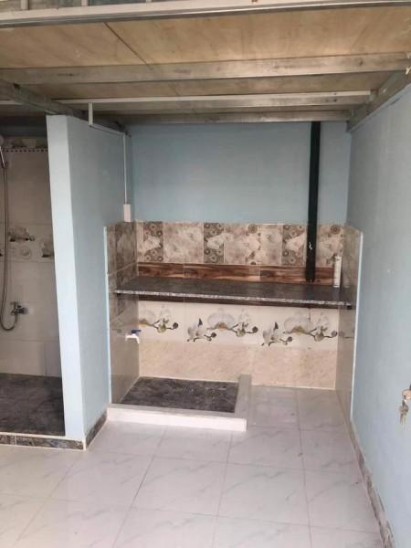 Phòng trọ sinh viên cho thuê tại Gò Vấp, có gác lửng, cửa sổ thoáng mát, sạch sẽ, không chung chủ, 22m2