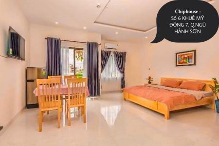 Phòng cao cấp đủ tiện nghi như căn hộ chung cư tại Khuê Mỹ Đông 7, Ngủ Hành Sơn giá chỉ 3tr5/tháng, 26m2
