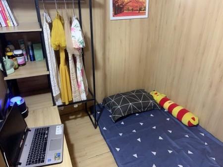 Phòng trọ dạng SleepBox mỗi người 1 phòng riêng có không gian riêng tư kín đáo, đủ tiện nghi, 30m2