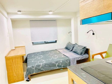 Phòng trọ quận 1 cần cho thuê, phòng full nội thất, giờ tự do, không chung chủ, an ninh, 28m2
