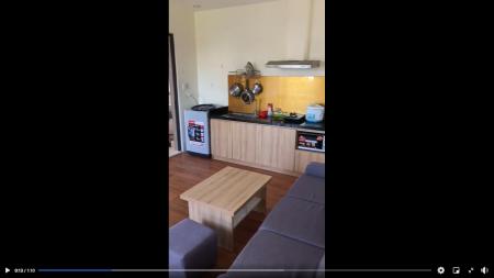 Cho thuê phòng trọ căn hộ cao cấp tại Nước Mặn 5 ngay cầu Tuyên Sơn, Full nội thất, 29m2