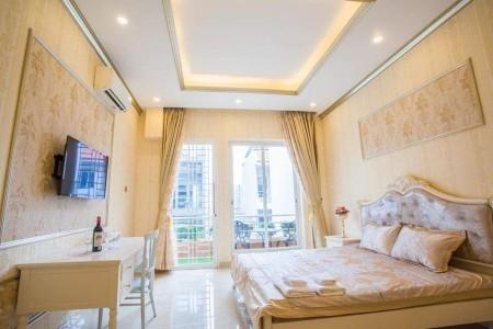 Cho thuê phòng trọ cao cấp tại quận 1, full nội thất hiện đại, phòng luôn rộng rãi, thoáng mát, 28m2