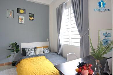 Phòng cao cấp cho thuê tại Bình Thạnh, có nội thất , có cửa sổ thoáng mát, không chung chủ, 25m2