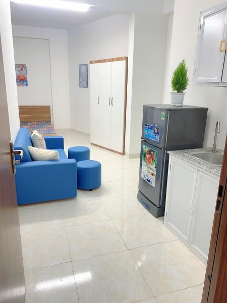 Phòng trọ mới, sạch sẽ cao cấp đầy đủ tiện nghi nội thất, 27m2