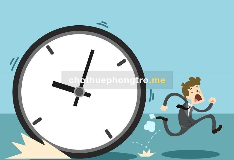 quản lý giờ giấc
